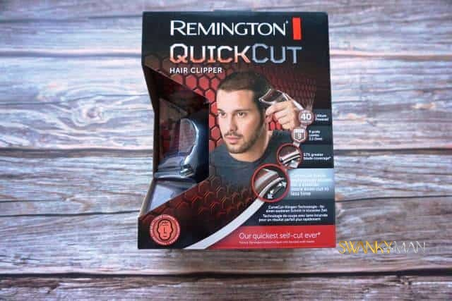 Remington Quickcut hair clippers in box