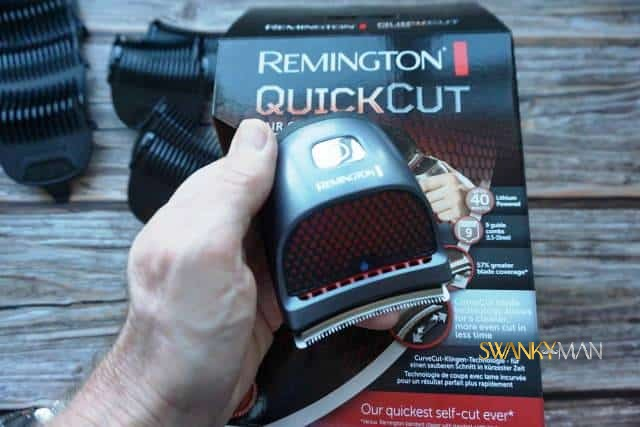 Remington HC250 held in palm of hand